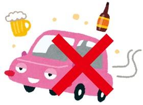 【イラスト】飲酒運転