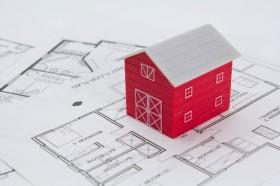 【画像】住宅と設計図