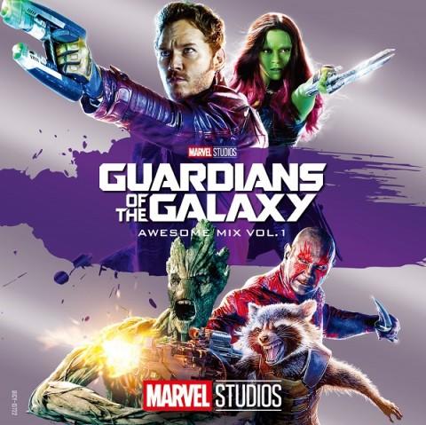 """ヴァリアス・アーティスト『ガーディアンズ・オブ・ギャラクシー オーサム・ミックス Vol 1(オリジナル・サウンドトラック)』 """"GUARDIANS OF THE GALAXY ? AWESOME MIX VOL.1"""""""