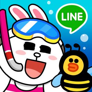LINE �o�u��