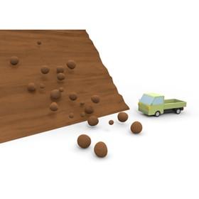 【画像】自動車事故のシーン模型