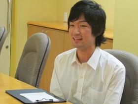 【画像】インタビューに答える鳥山大輔さん