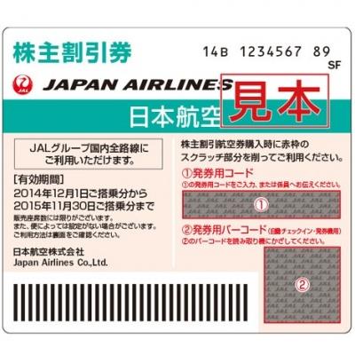 画像/日本航空の優待品イメージ