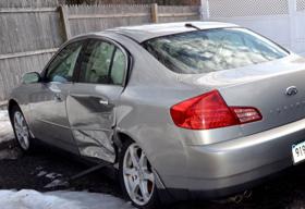【画像】交通事故に遭った車