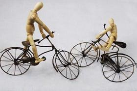 自転車への「当たり屋」