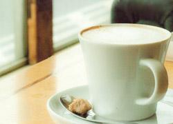 画像/空港のカフェのイメージ