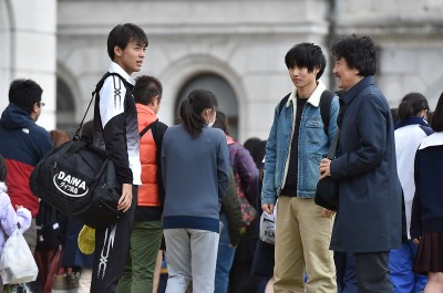 (写真左より)TBS系連続ドラマ『陸王』に出演する竹内涼真、山崎賢人、役所広司 (C)TBS