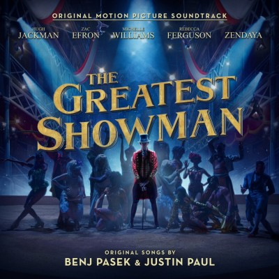 総合アルバムランキング1位を獲得した『グレイテスト・ショーマン(オリジナル・サウンドトラック)』