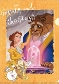 『美女と野獣』クリアファイル:120円+税(C)Disney