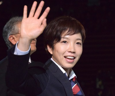 女子スピードスケート史上初の金メダルに輝いた小平奈緒選手 (C)ORICON NewS inc.