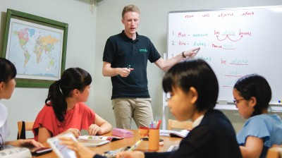 英会話教室「Lesson4U」のレッスン風景
