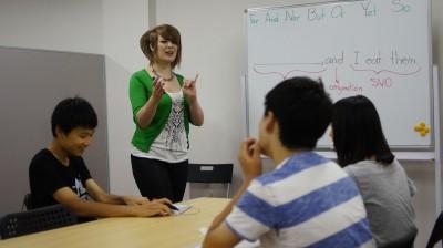 英会話教室「Lesson4U」でのレッスン風景