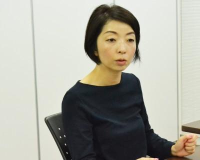インタビューした田中夏生さん
