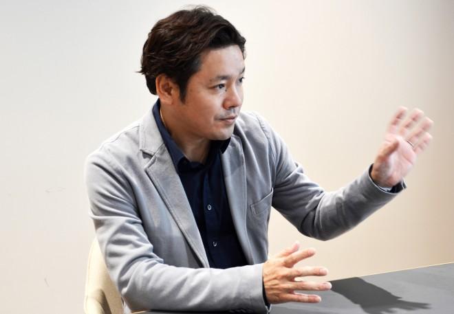 今後の取り組みについて語る貝瀬雄一社長