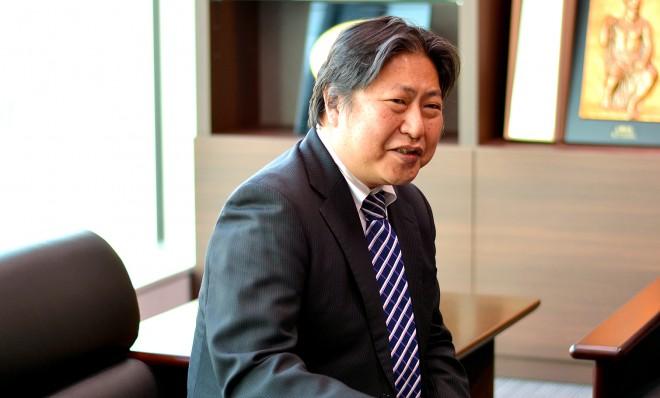お話を伺ったマネーパートナーズ代表取締役社長・奥山泰全氏