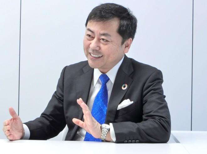 お話を伺った東京個別指導学院代表取締役社長・齋藤勝己氏